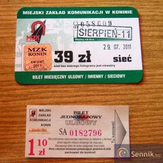 Bilet autobusowy