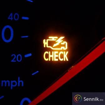 Kontrolka samochodowa