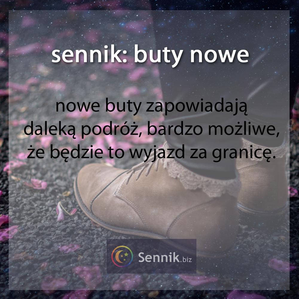 sennik - buty nowe
