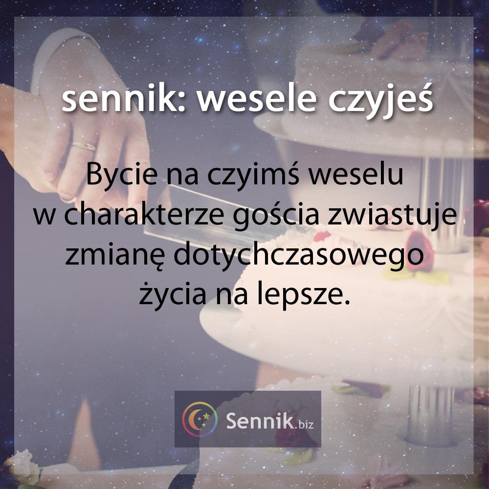 sennik - wesele czyjeś