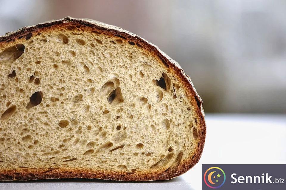 sennik chleb