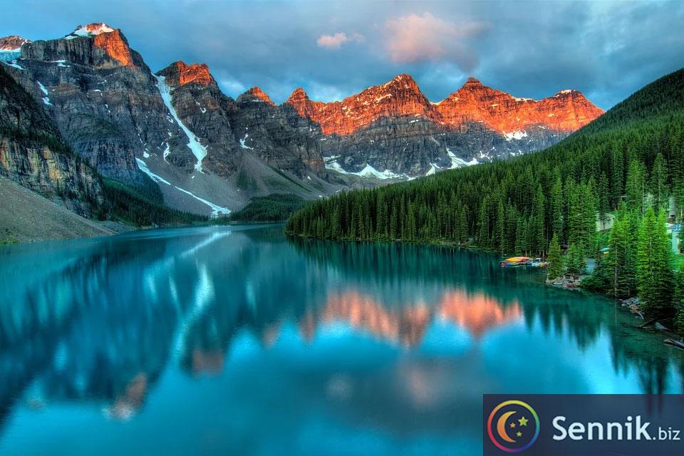 jezioro sennik