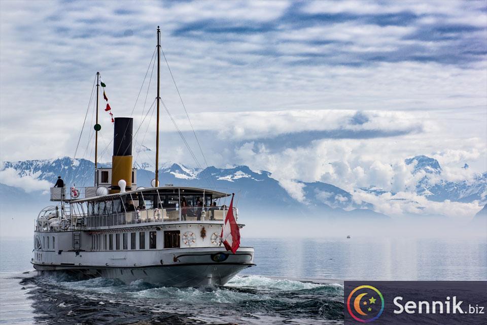 statek sennik