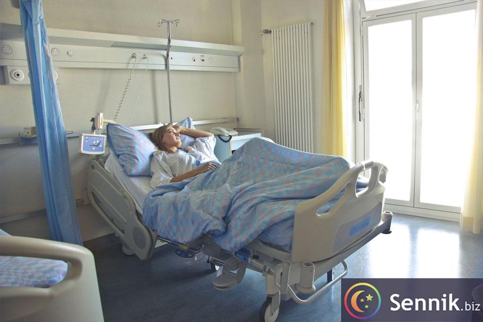 sennik szpital