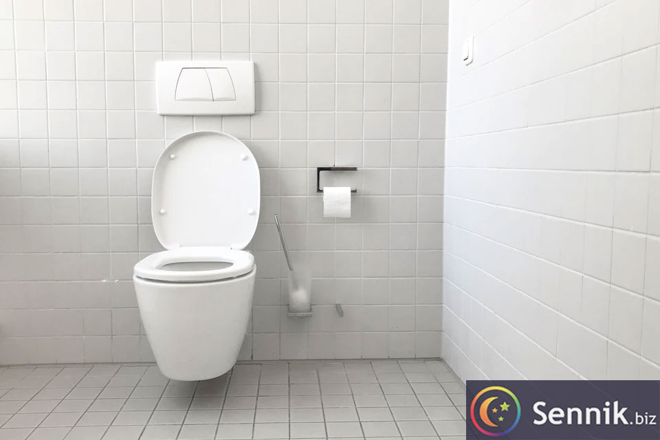 sennik toaleta