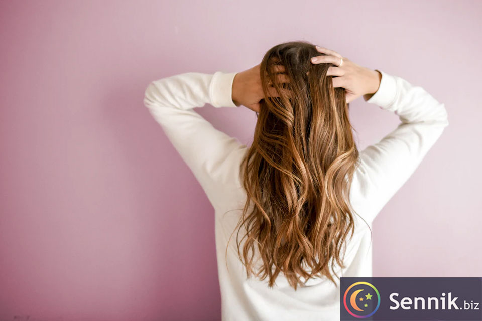 sennik włosy