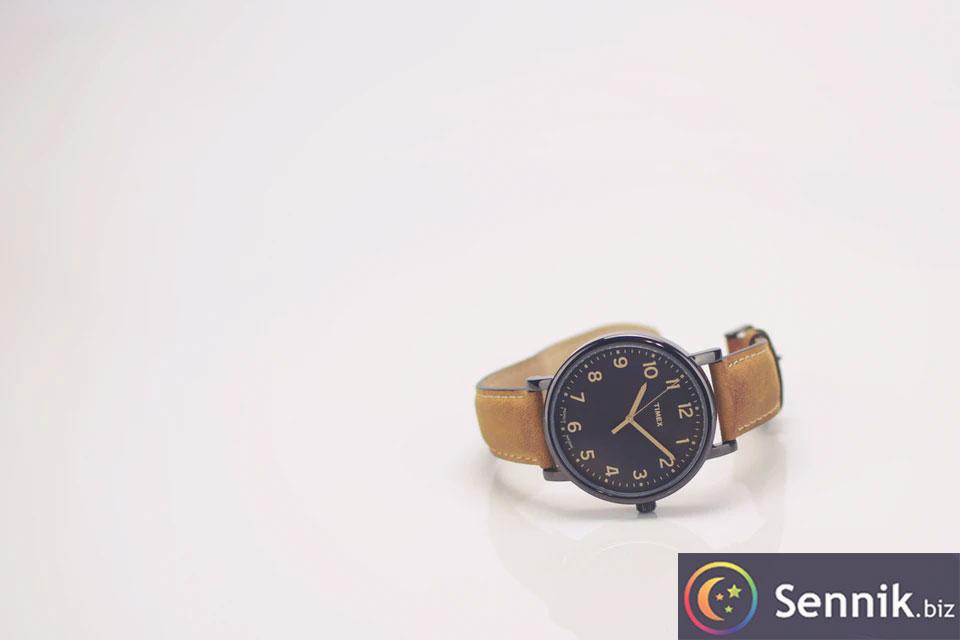 sennik zegarek