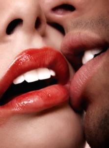 sen o całowaniu się
